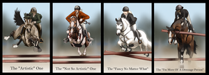 Which Show jumper Are You? by BH-Stables