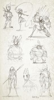 Afterman Sketches by The-HT-Wacom-Man