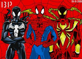 Spiderman's Outfits by BenjiPrice