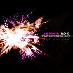 Light Explosion Pack #3 [Ps Brushes] by graphicavita