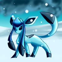 Glaceon by Animeluver600