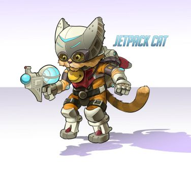 Jetpack Cat by SeanMcFarland