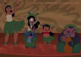 Hula Practise by Stardust-Phantom