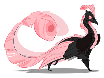 Dragon Breed - Crested Bailar by ButtonPrince