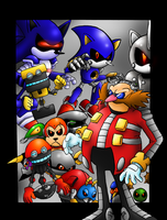 Those Eggman's Robots by SonicKnight007