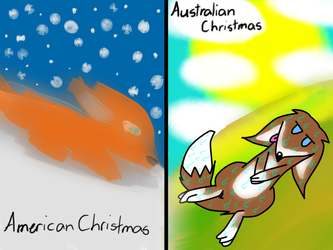 Christmas Difference by AshFox8091
