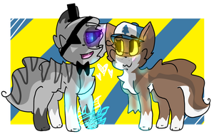 {Commission} CHIP AND DIP by ShadowedCipher