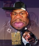 Rapper 50 Cent by RodneyPike