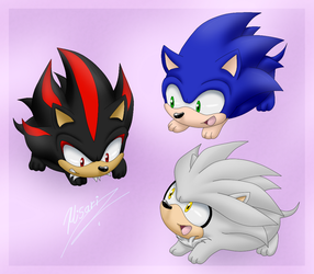 Hedgehogs by Myly14