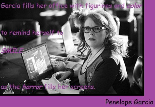 Penelope Garcia: Horror by MadreLoca