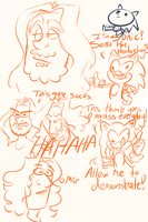Game Grumps Doodles by MerpdiDerp