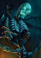 Skeletal Abomination by chirun