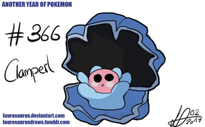 Another year of pokemon: #366 Clamperl