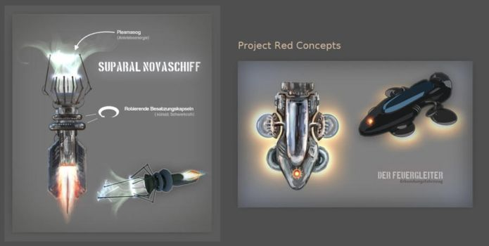 Project Red Concepts by valoofx