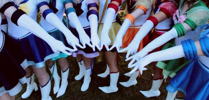 Eternal Sailor Scouts Cosplay by IronStitchCosplay