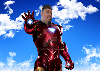 Me as Ironman by 2barquack