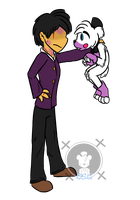 .:Michael and Helpy:. by Blustreakgirl