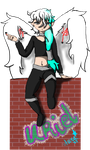 Uriel (Chibi-Pix's character) by AuraLeighDragon