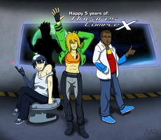 Happy 5 Years Antares Complex!!! by Gx3RComics