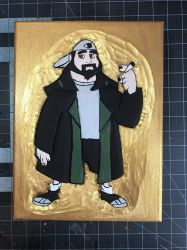 Silent Bob by SpikeFiremane