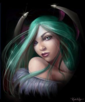 Morrigan Aenslaad by vixelyn