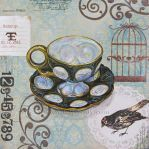 Birdcage Teacup by felixxkatt