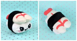 Shrimp Nigiri Sushi Plush by SewDesuNe