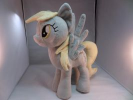 Derpy Plushie by makeshiftwings30