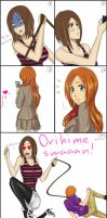 Typical IchiHime by Dgesika