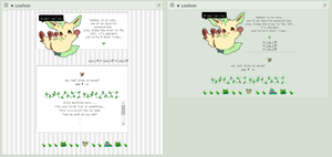 F2U NON-CORE AND CORE CUSTOM BOX CODE : Leafeon by soft-toy
