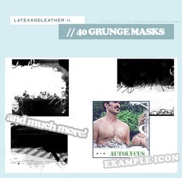 latex grungemasks by NotFadeAway