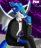 The elegant dragon: ExVeemon~ by PawRZ