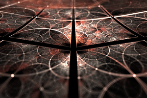 Tiles - Fractal Art by CMWVisualArts