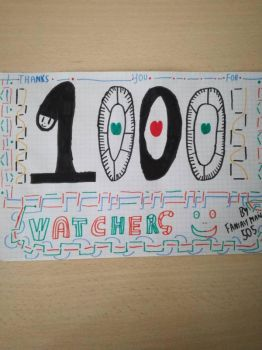 Thank you for 1.000 Watchers!!! by Fantasyman505