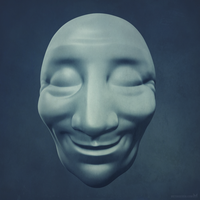 Head - 3D sculpting exercise by m7