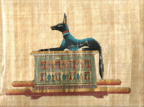 Anubis Fake Papyrus scan0215 by TheObsessiveBrowser