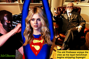 Supergirl in The Professor's Tramp by McGheeny