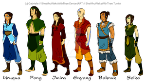 The Avatar Cycle by SheWhoWalksWithThee