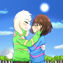 [Undertale] Let's go together. (COLLAB) by MCMania332