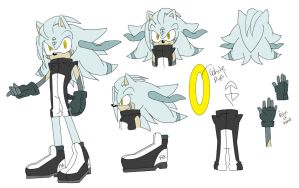 {sonic fc} B-110 the android hog by BlondeSpirit