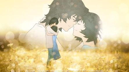 Hontou ni Aitakatta || WOLF CHILDREN: AME AND YUKI by hjpenndragon