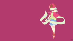 Tet (No Game No Life) Minimalist Wallpaper by greenmapple17