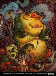 Jabba The Hutt by RobbVision