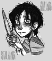 A scared little Yoon Bum by Eritheas