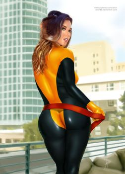 Kitty Pryde Fan Art by arion69