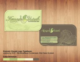 Komodo Visuals Biz Card by tenbiscuits