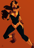 Pantha by duskflare