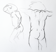 quicksketch studies by Neivan-IV