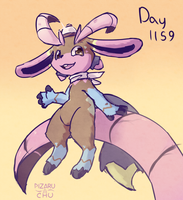 Daily Pic Day 1159 by Pizaru-Chu