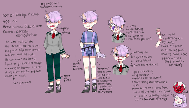 bnha oc by cookietsune